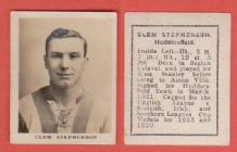 Huddersfield Town Clem Stephenson England